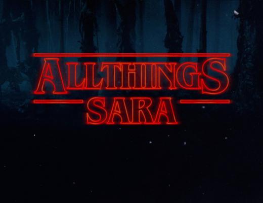All Stranger Things Sara